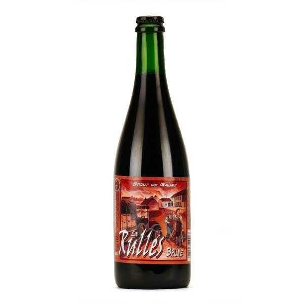 Brasserie Rulles La Rulles - Bière brune de Belgique 6.5% - Bouteille 75cl