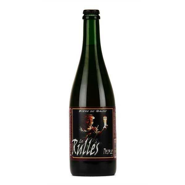 Brasserie Rulles La Rulles - Bière triple de Belgique 8.4% - Bouteille 75cl