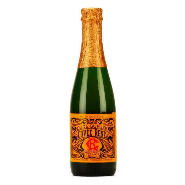 Brasserie Lindemans Oude Gueuze Cuvée René  - bière lambic belge 6% - Bouteille 37cl