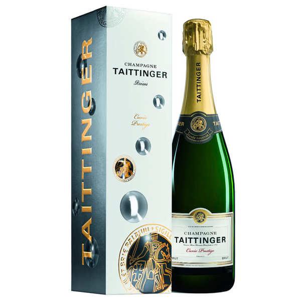 Champagne Taittinger Brut Prestige - Bouteille 75cl et son étui
