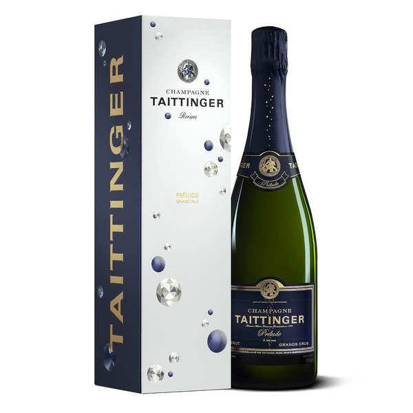 Champagne Taittinger Brut Prélude Grands Crus - Bouteille 75cl et son étui