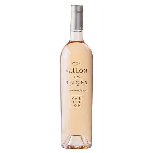 Domaine de Valdition - Vallon des Anges Coteaux d'Aix en Provence vin rosé bio - 2019 - Lot 6 bouteilles 75cl