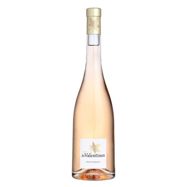 Château Les Valentines - AOC Côtes de Provence vin rosé bio - 2019 - Lot 6 bouteilles 75cl