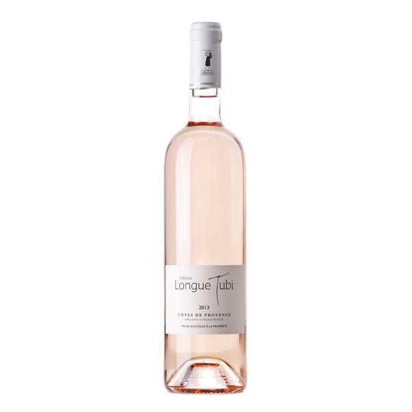 Domaine Longue Tubi - Côtes de Provence AOP vin rosé bio - 2016 - Lot 6 bouteilles 75cl