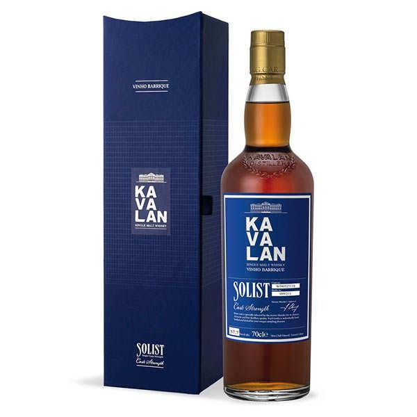 Kavalan Solist Vinho Barrique - whisky taïwanais 57,1% - Bouteille 70cl en étui
