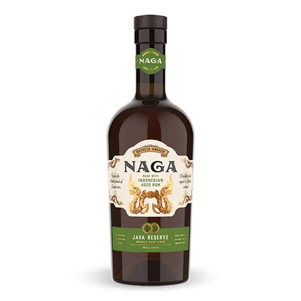 Naga Rum Java Reserve - Rhum d'Indonésie 38% - Bouteille 70cl