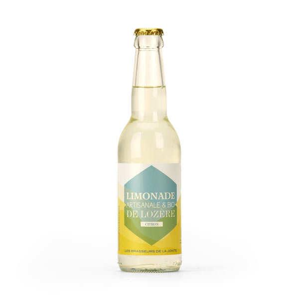 Les brasseurs de la Jonte Limonade artisanale de Lozère au citron bio - Bouteille 33cl