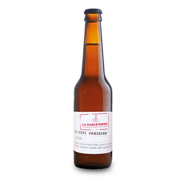 La Parisienne - bière IPA Le titi parisien 6% - Bouteille 33cl