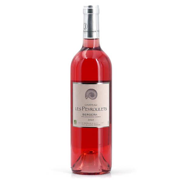 Château Les Peyroulets vin Rosé Bio - AOC Bergerac - 12° - 2020 - Bouteille de 75cl