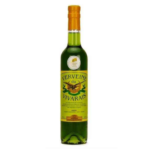 Udivel Liqueur verveine du Vivarais verte 45% - Bouteille 50cl