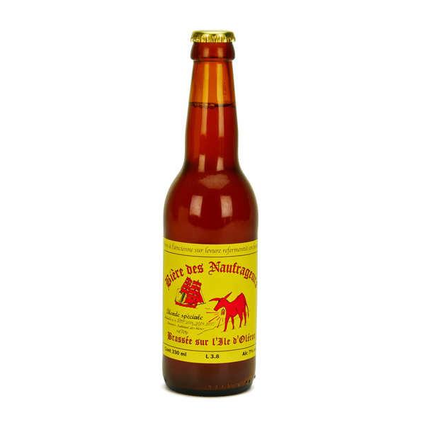 Bière des Naufrageurs Bière blonde spéciale de l'île d'Oléron - Brasserie Les Naufrageurs 7% - 6 Bouteilles de 33cl