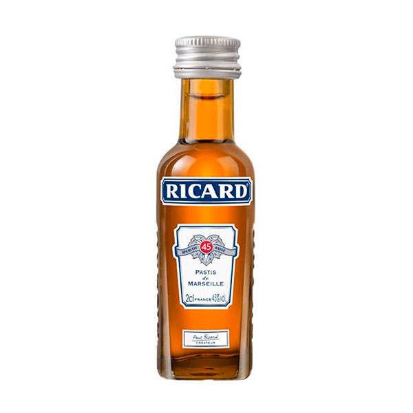 Ricard Mignonnette de Ricard - Pastis de Marseille 45% - 5 bouteilles de 2cl