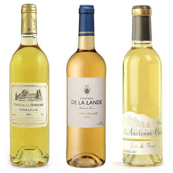BienManger.com Collection vins moelleux Monbazillac - 3 bouteilles de 75cl