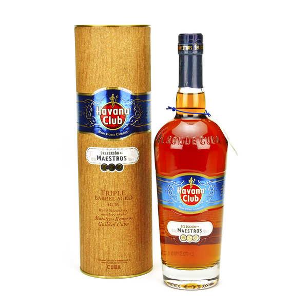 Havana Club seleccion de maestros - rhum hors d'age cubain 45% - 70cl - 45% alcool