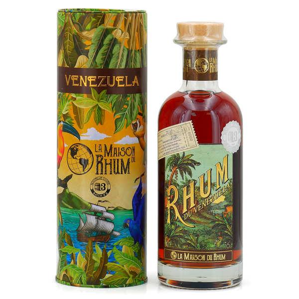 La Maison du Rhum Vénézuela 7 ans (Distillerie Diplomatico) 47% - Bouteille 70cl