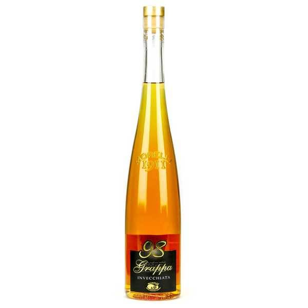 Liquori Morelli Grappa 98 Invecchiata - eau de vie italienne 40% - Bouteille 70cl