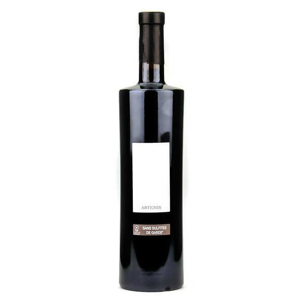 Château de Bosc Artemis - Côte du Rhône vin rouge sans sulfite ajouté, vegan et bio - 2019 - Bouteille 75cl