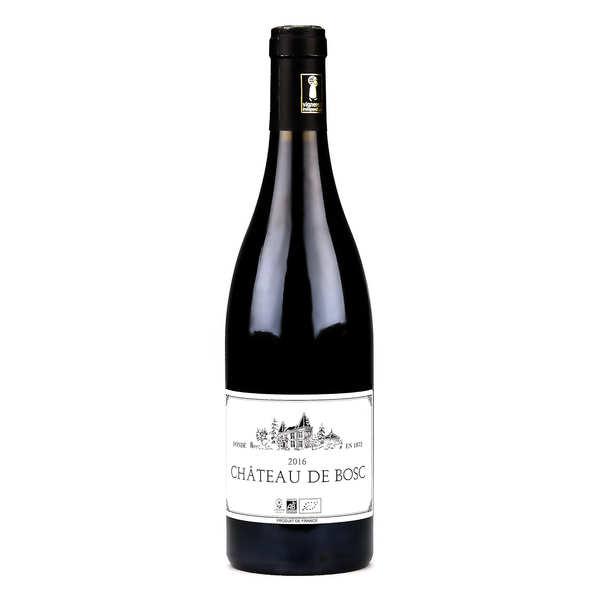 Château de Bosc - Côte du Rhône vin rouge sans sulfite ajouté, vegan et bio - Lot de 6 bouteilles 75cl