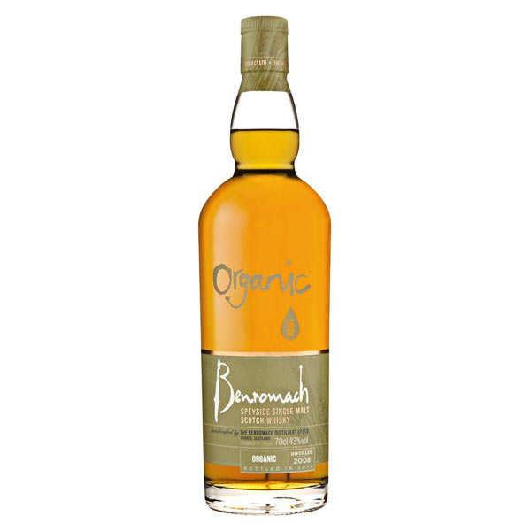 Distillerie Benromach Whisky Benromach Organic bio special edition - 43% - 70cl en étui