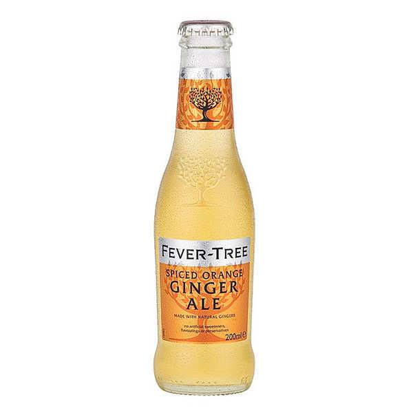 Fever Tree Spiced Orange Ginger Ale - Bouteille verre 20cl