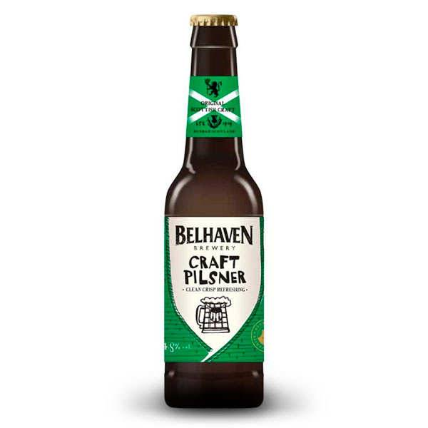 Belhaven Brewery Belhaven Craft Pilsner - Bière écossaise 4.8% - Bouteille 33cl