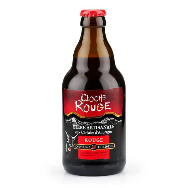 L'Auvergne Autrement Bière rouge d'Auvergne - Cloche rouge (Baies et houblon) 6% - 6 bouteilles de 33cl