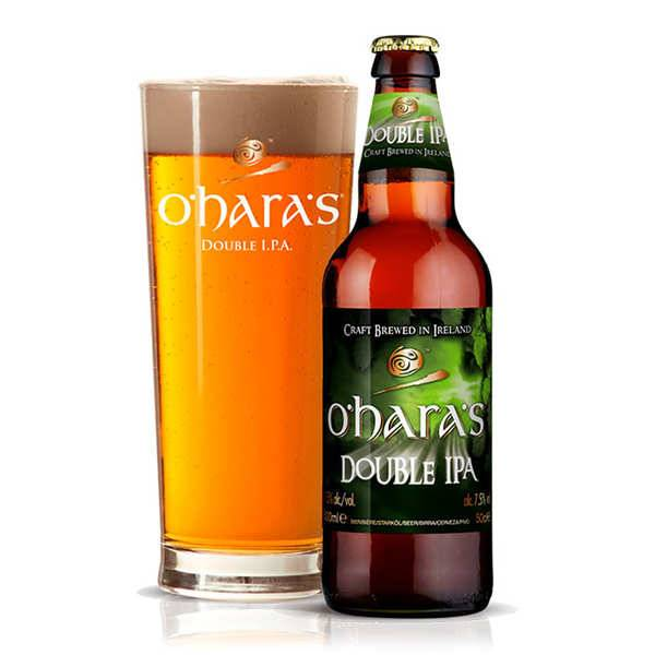 Carlow Brewing Company O'Hara's double IPA - Bière irlandaise 7.5% - Lot 6 bouteilles de 33cl