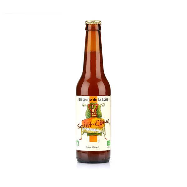 Brasserie de la Loire Saint Côme - bière blonde bio 5.5% - Bouteille 33cl