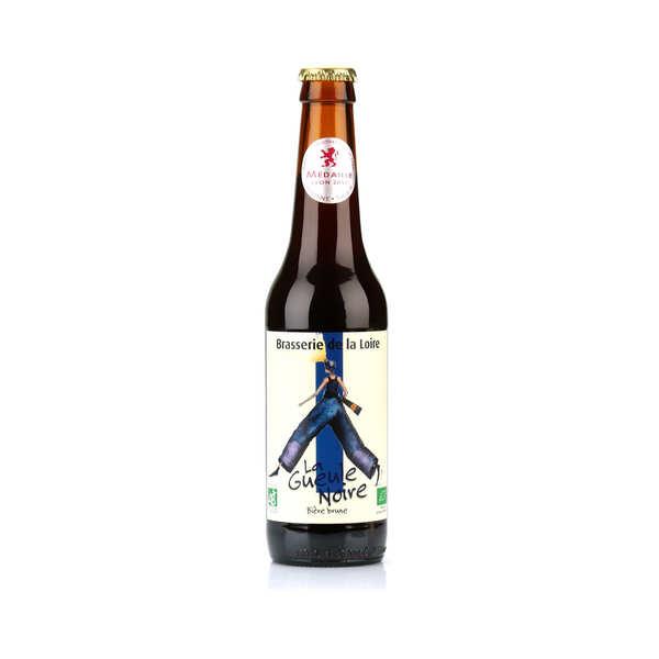 Brasserie de la Loire La gueule noire - bière brune bio 6% - Bouteille 33cl