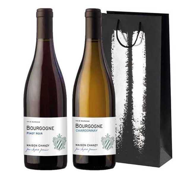 Maison Chanzy Coffret Premiers Pas en Bourgogne - Coffret 2 bouteilles 75cl
