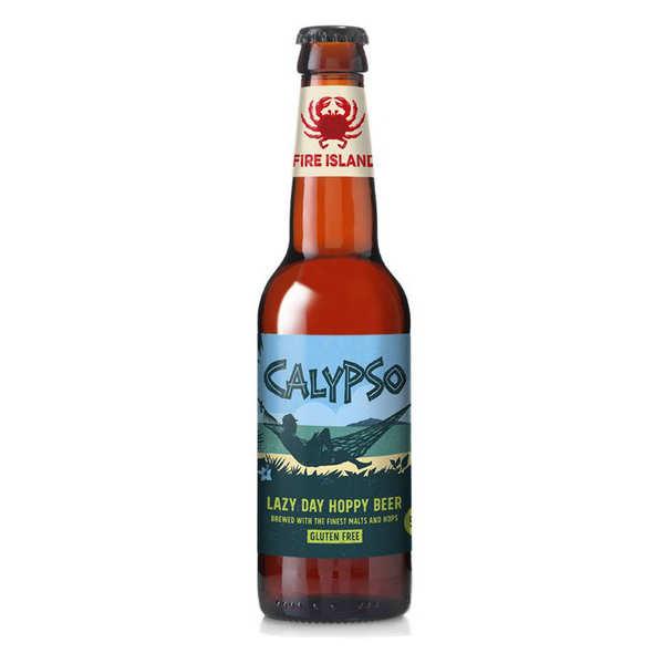 Fire Island Organic Craft Beer Calypso - bière ambrée du Pays de Galles bio et sans gluten 4.5% - Bouteille 33cl