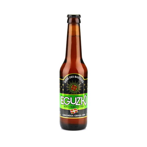 La brasserie du pays basque Eguzki blonde - bière du Pays basque 5.5% - Bouteille 33cl