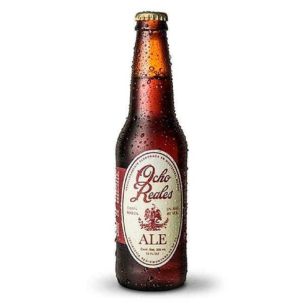 Ocho Reales Bière Ocho Reales ale du Mexique 5% - 24 bouteilles de 35cl