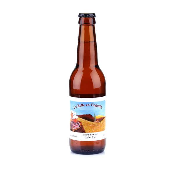 Brasserie des Garrigues La Belle en Goguette - bière blonde du Languedoc bio 5.2% - 24 bouteilles de 33cl