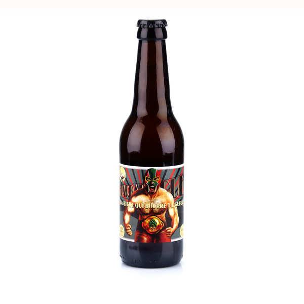 Brasserie des Garrigues La Frappadingue - bière IPA du Languedoc bio 9.6% - 24 bouteilles de 33cl