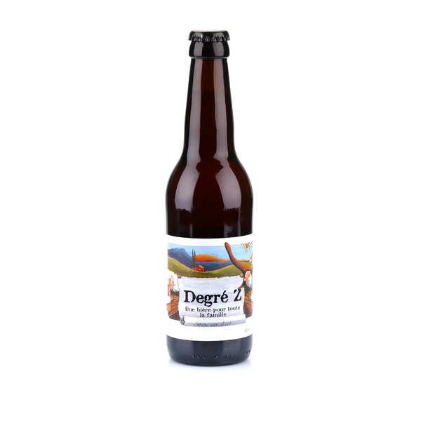 Brasserie des Garrigues La Degré Z - bière blonde sans alcool du Languedoc bio 0.7% - Bouteille 33cl