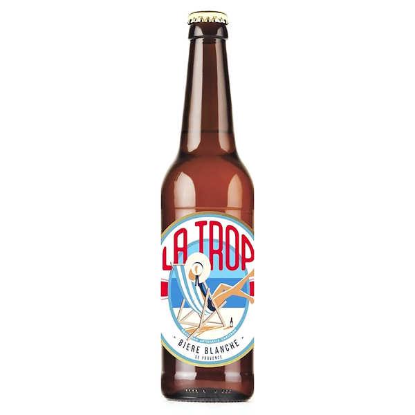 Brasserie Carteron La Trop - Bière blanche de Provence 4.4% - 6 bouteilles de 33cl
