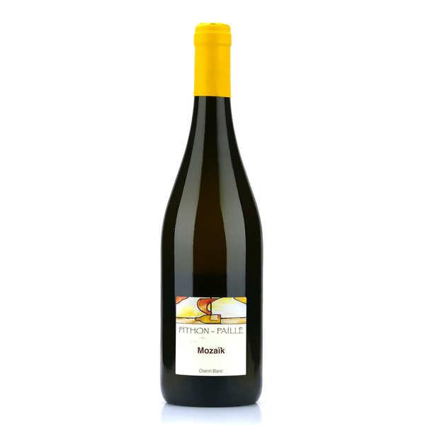 Domaine Pithon Paillé Mozaïk - Chenin blanc bio - 2018 - 6 bouteilles de 75cl