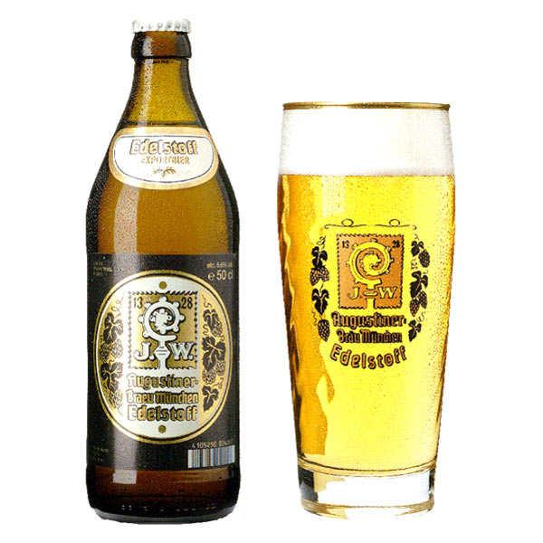 Augustiner Edelstoff - Bière Allemande 5,6% - 20 bouteilles de 50cl