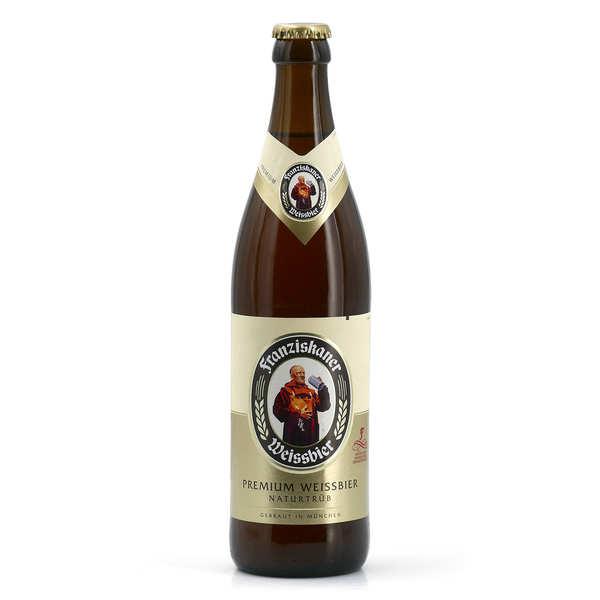 Brasserie Spaten-Franziskaner Franziskaner Heffe - Bière Allemande 5% - 20 bouteilles de 50cl