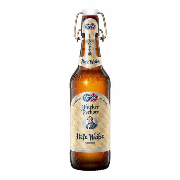 Brasserie Hacker-Pschorr Hacker Pschorr Weissbier Heffe - Bière Allemande 5,5% - 6 bouteilles de 50cl