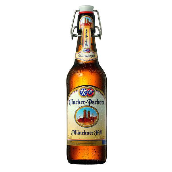 Brasserie Hacker-Pschorr Hacker Pschorr Munchner Hell - Bière Allemande 5% - 20 bouteilles de 50cl