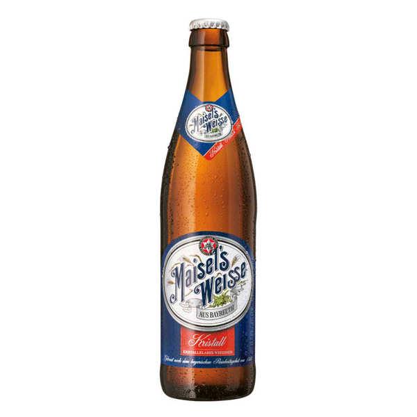 Brasserie Maisel Maisel Weizen Klar - Bière Allemande 5,1% - 6 bouteilles de 50cl