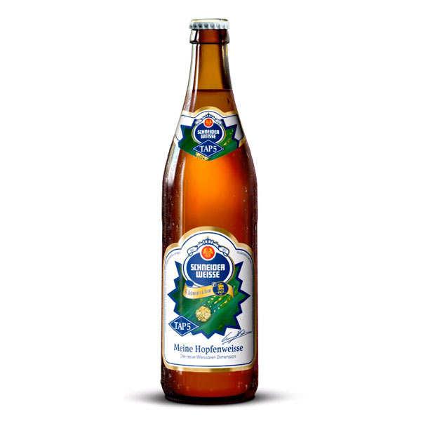 G. Schneider & Sohn Schneider Meine Hopfenweisse Tap5 - Bière Allemande 8.2% - 6 bouteilles de 50cl