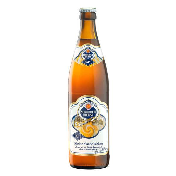G. Schneider & Sohn Schneider Weisse Troub Tap1 - Bière Allemande 5.2% - 6 bouteilles de 50cl