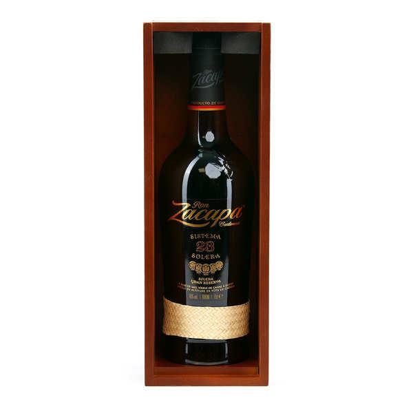 Zacapa 23 Rhum du Guatemala 40% - Coffret 2 verres - Bouteille 70cl + 2 verres