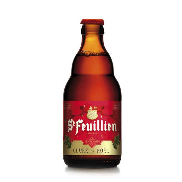 Brasserie St Feuillien St-Feuillien Cuvée de Noël - bière belge ambrée 9% - Bouteille 33cl