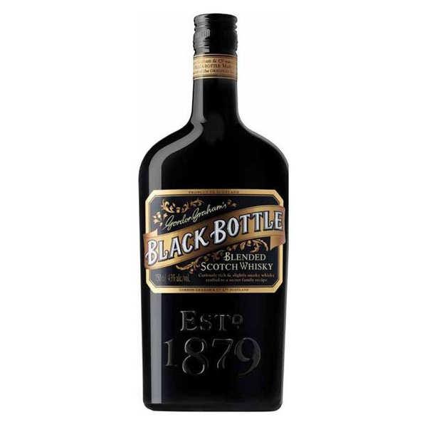 Black Bottle (Gordon Graham's) Whisky Black Bottle & Ginger cocktail Box - Coffret 1 verre et 2 Fentiman's Ginger Ale -  40% - Bouteille 70cl + 1 verre + 2 ginger ale de 20cl