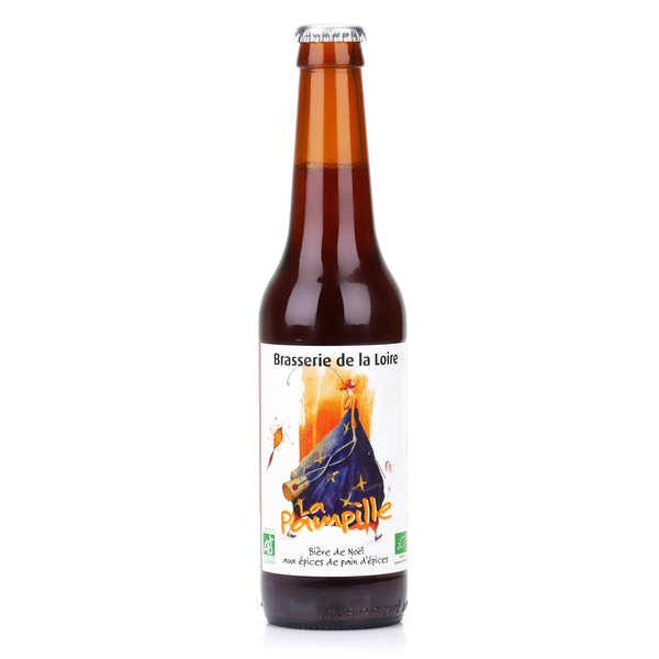 Brasserie de la Loire La Pampille - Bière de Noël bio rousse aux épices 6.5% - Bouteille 33cl