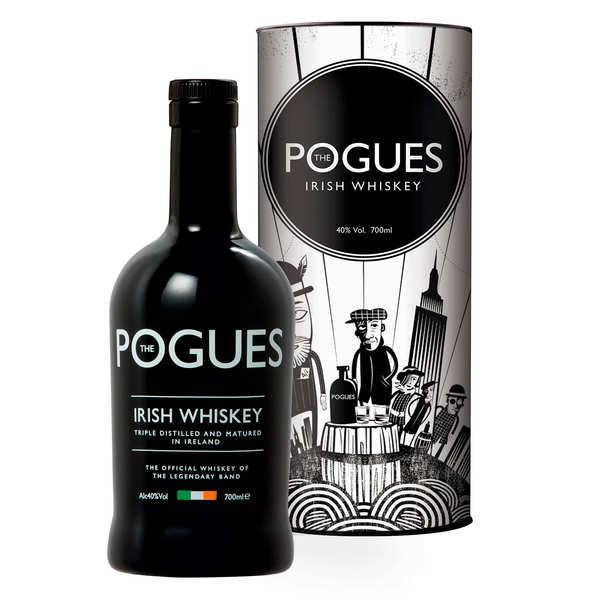 West Cork Distillers Whisky iralndais The Pogues 40% - Bouteille 70cl
